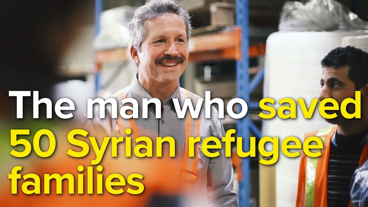 The Canadian businessmen who sponsored over 200 Syrian refugees