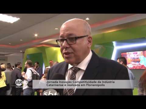 Jornada Inovação e Competitividade da Indústria Catarinense é realizado em Florianópolis