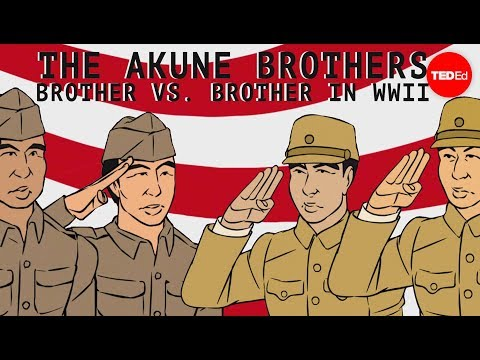 The Akune brothers: Siblings on opposite sides of war - Wendell Oshiro thumbnail
