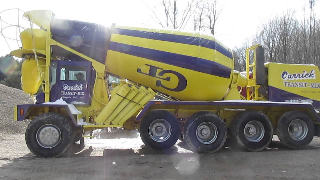 93718090843c Orbidbit.com- MICHIGAN Complete Construction - 1988 Advance Concrete Mixer  Truck Lot  412376