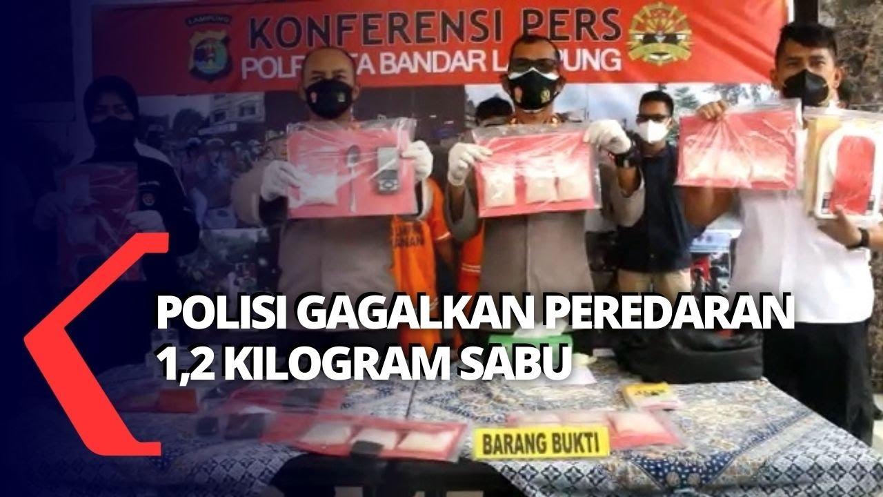 Polisi Amankan 1,2 Kg Sabu dari Dua Orang Tersangka