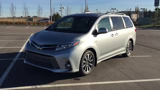 2019 Toyota Sienna XLE AWD Review