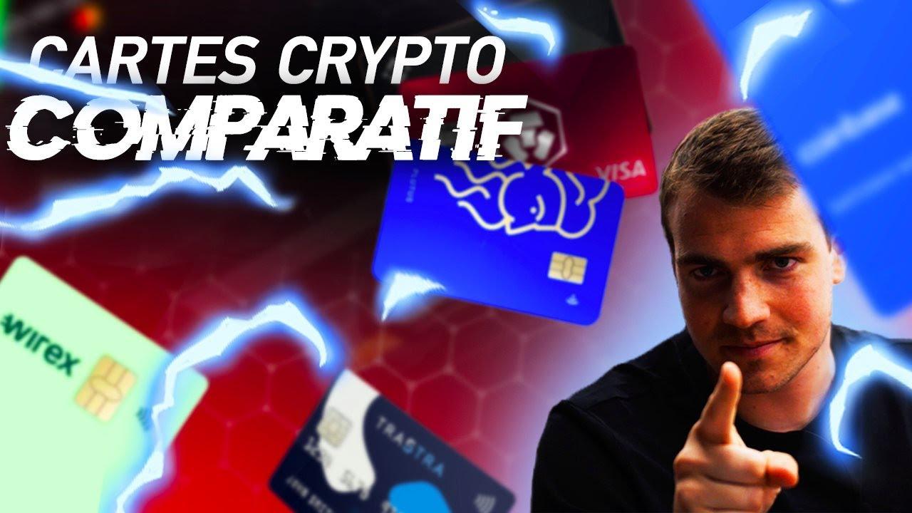 Comparatif Cartes CRYPTO bancaires | Mon classement 2020