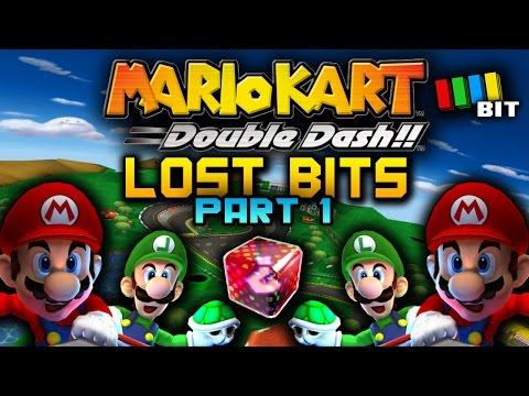 Mario Kart Double Dash LOST BITS - Part 1 | Unused And Unseen Secrets [TetraBitGaming]