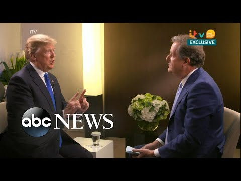 Piers Morgan interviewed President Trump