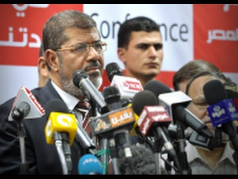 Egypt's Morsi Stands Trial For 'Inciting Murder'