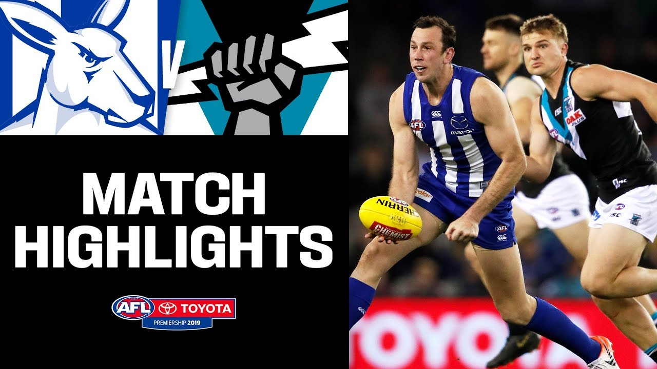 Brown bags 10 goals | North Melbourne v Port Adelaide Highlights | Round 22, 2019 | AFL
