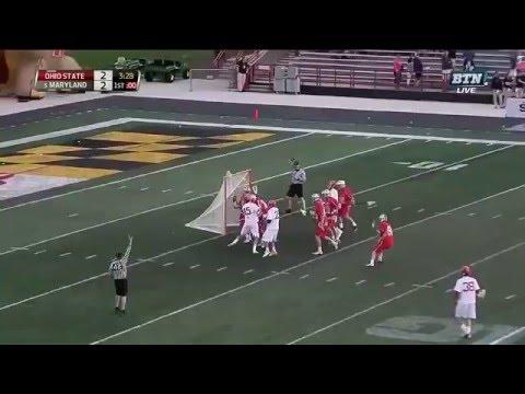 Lax Goalie Save Compilation: Ohio State vs. Maryland