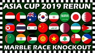 AFC Asian Cup 2019 Marble Race Knockout Rerun - Algodoo