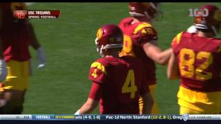 USC 2016 Spring Football Game - Highlights