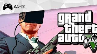 Veja como é jogar GTA V em uma máquina de realidade virtual