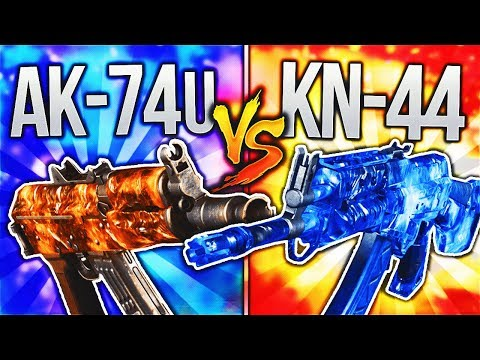 AK-74u vs KN-44! (BO3 DLC WEAPON FACE OFF) BLACK OPS 3 DLC WEAPON SUPPLY DROP OPENING!