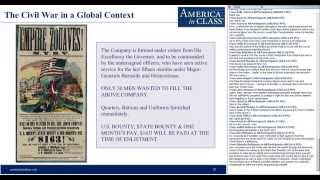 The Civil War in Global Context