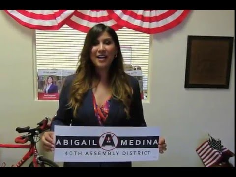 Abigail Medina for 40th Assembly District New Office!