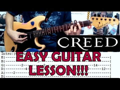 My Sacrifice - Creed(Complete Guitar Lesson/Cover)with Chords and ...
