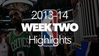 Repeat youtube video NBA Week Two 2013 Highlights | Kanye West - Black Skinhead