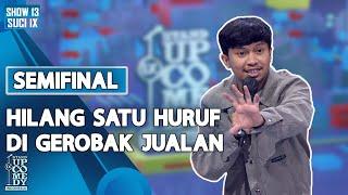 Download lagu Stand Up Ali Akbar: Tulisan Hilang Satu Huruf di Gerobak Jualan - SEMIFINAL SUCI IX