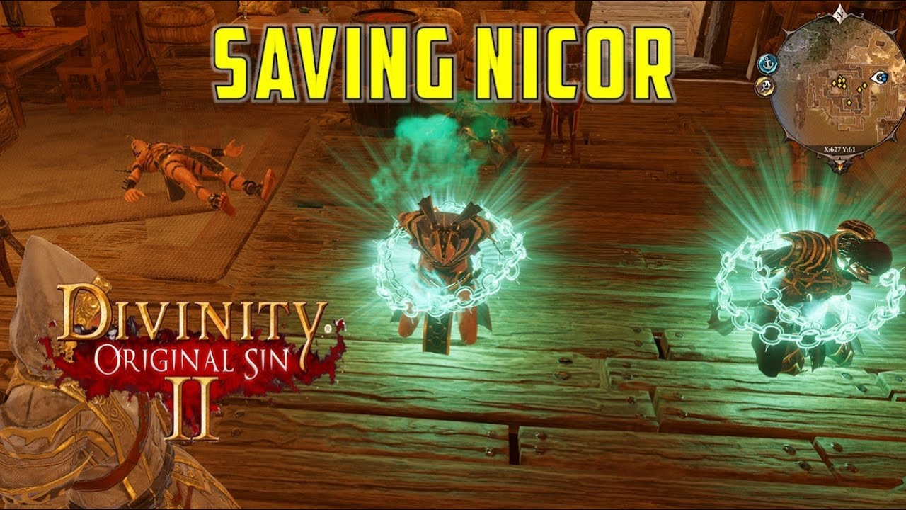 How to save Nikor: Dark Dealings in the Blackpits (Divinity Original Sin 2)