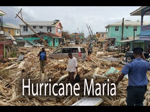 Hurricane Maria smashes Caribbean islands, Puerto Rico, Dominica, St. Croix, Guadeloupe, Vieques,