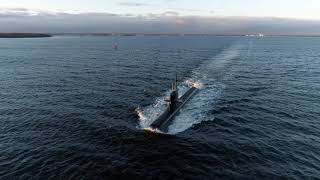 homepage tile video photo for HMS Gotland continued sea trials