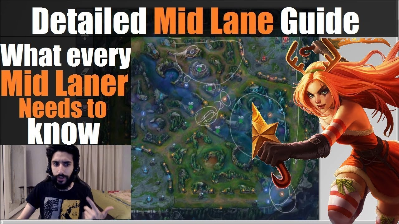 ►Mid Lane Guide: What Every Mid Laner Needs To Know | League Of Legends