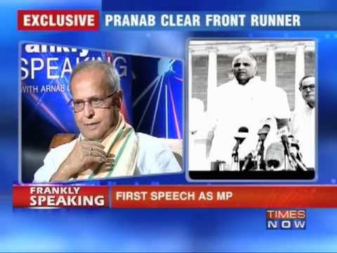 Frankly speaking with Pranab Mukherjee -Part - 3/6