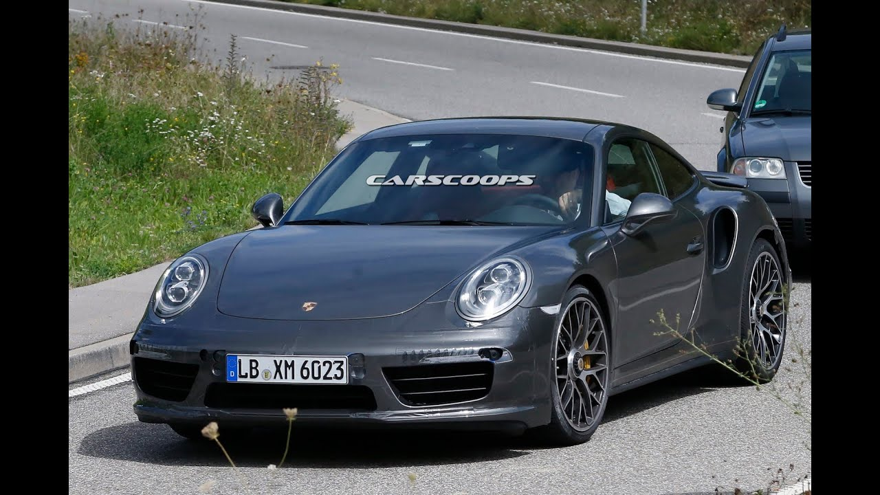 2015 porsche 911 992 turbo s spyshots youtube. Black Bedroom Furniture Sets. Home Design Ideas