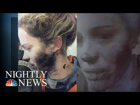 Woman's Headphones Explode During Flight From China To Australia | NBC Nightly News