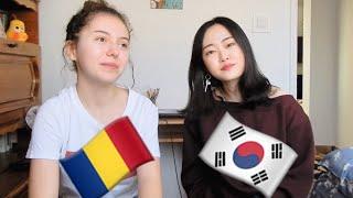LANGUAGE CHALLENGE (Coreeana & Romana)