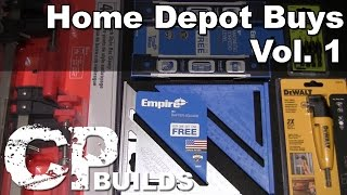 Home Depot Buys Vol. 1