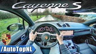 2018 Porsche Cayenne S 2.9 V6 BiTurbo POV Test Drive by AutoTopNL