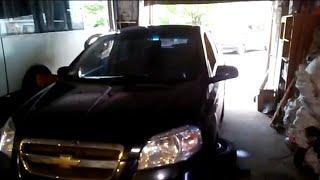 Chevrolet Aveo замена передних рычагов