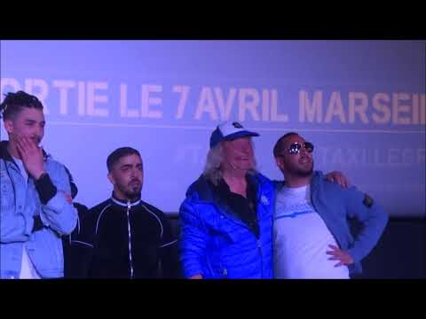 Avant-première de Taxi 5, avec Luc Besson, Franck Gastambide, Malik Bentalha, Bernard Farcy...