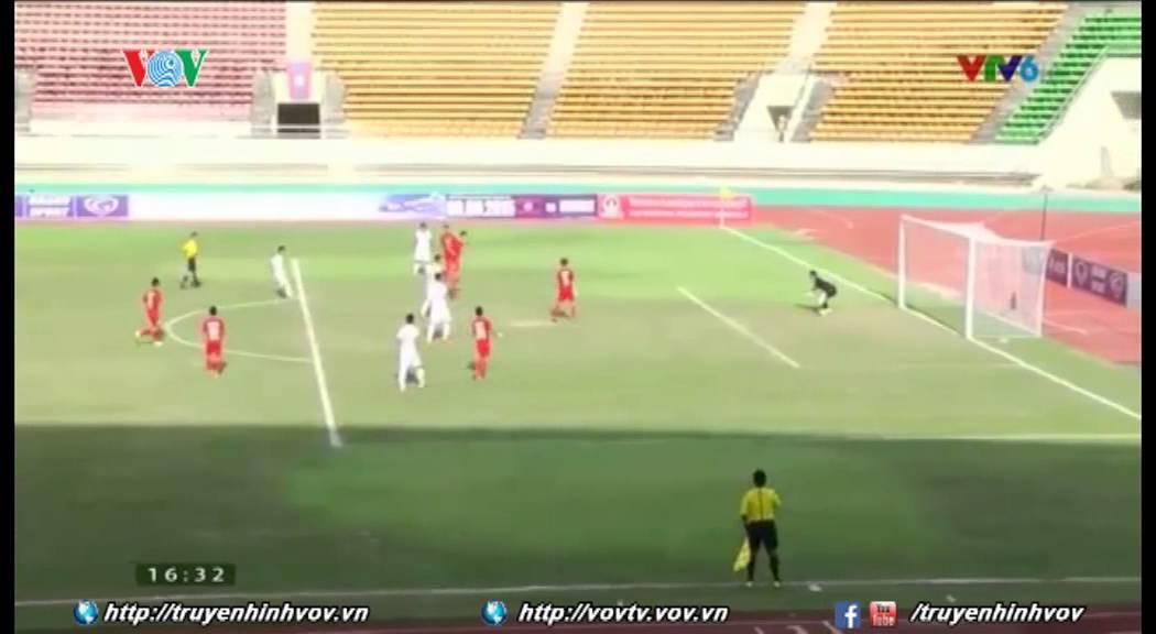 Thắng đậm U19 Singapore, U19 Việt Nam đặt một chân vào bán kết | VOVTV
