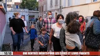 """Rentrée scolaire à Marseille : """"Nous savons comment faire si un élève ou un personnel est positif"""""""