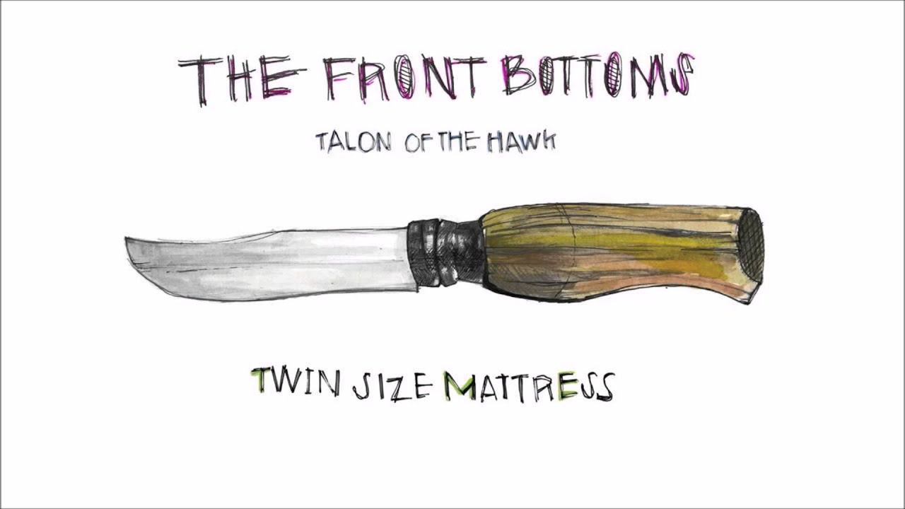 twin size mattress the front bottoms clean