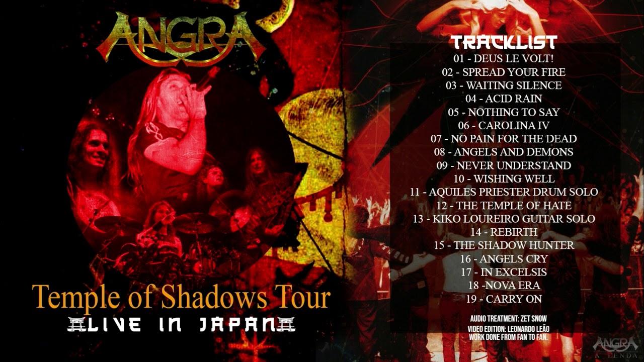 Angra - Temple Of Shadows Tour Japão - Audio HD BootLegs