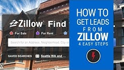 How to get real estate leads from Zillow (free)