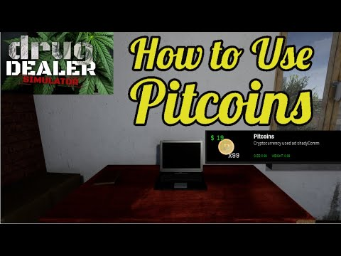 How To Use Pitcoin PTC Cryptocurrency Explained | Drug Dealer Simulator | Tips & Tricks