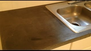 How To Make A Concrete Counter Top