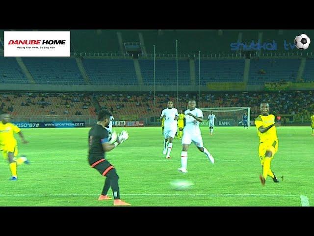 Goli Peke La Makambo Yanga VS Coastal Union F.C