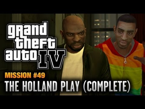 GTA 4 - Mission #49 - The Holland Play [Complete] (1080p)