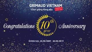GRIMAUD VIETNAM - HÀNH TRÌNH 10 NĂM CHINH PHỤC THỊ TRƯỜNG VỊT SIÊU THỊT TẠI VN