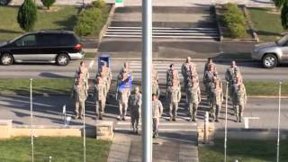 96th Test Wing - Retreat Ceremony