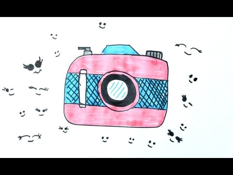 Fotograf Makinesi Cizimi How To Draw Camera Drawing Fatograf