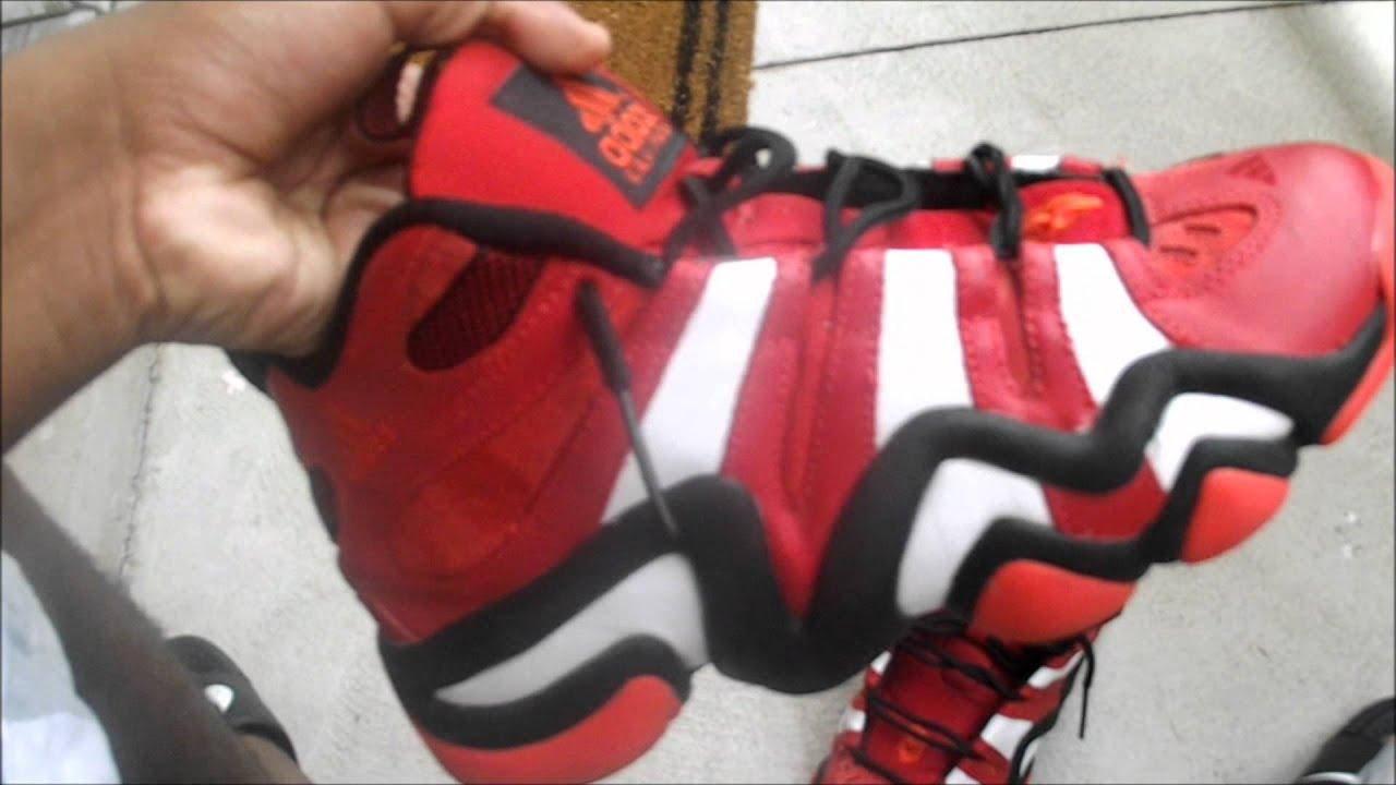factory price 244ec dbc46 Adidas Crazy 8 Red Review