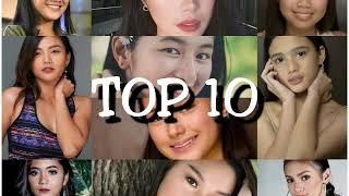 #PBB OTSO TOP 10 BEAUTY RANKING
