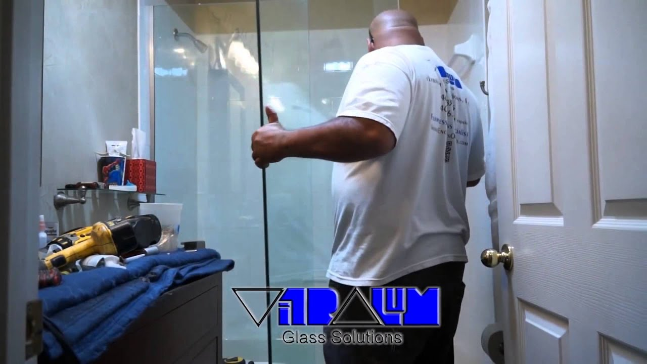Vitralum Glass Solutions, how to install an Essence sliding shower ...
