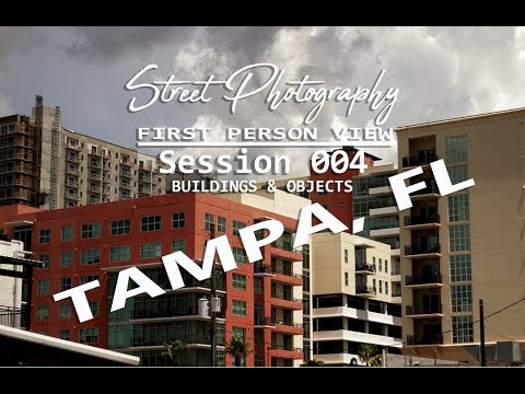 Street Photography In Tampa Florida | First Person View Vlog Session 004