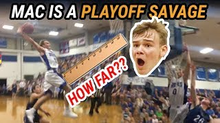 Mac McClung Goes FULL SAVAGE In HOME PLAYOFF GAME! Gate City HAS NO CONSCIOUS In Dub 😱